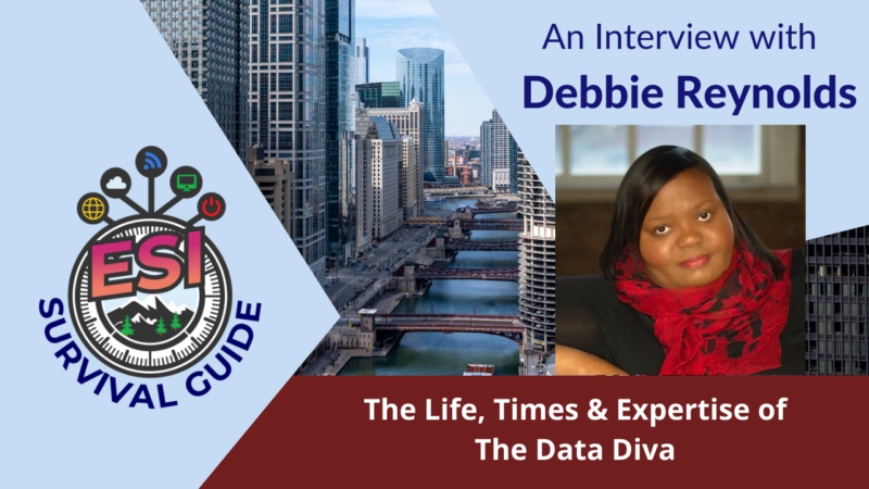 An Interview With The Data Diva Debbie Reynolds