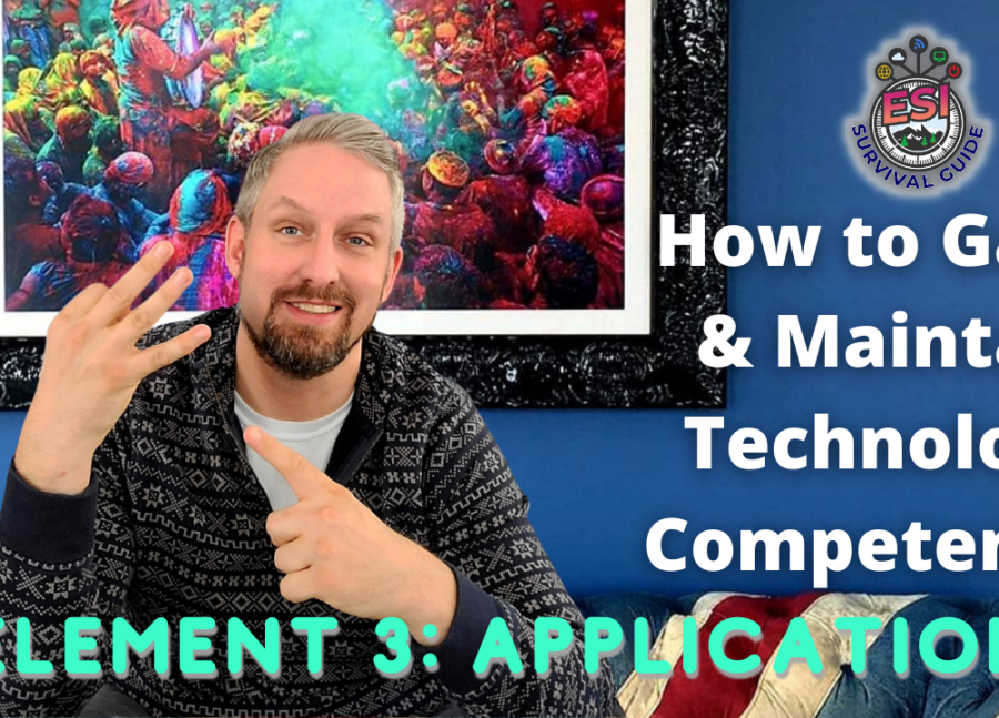 How To Gain & Maintain Technology Competence Element 3v2