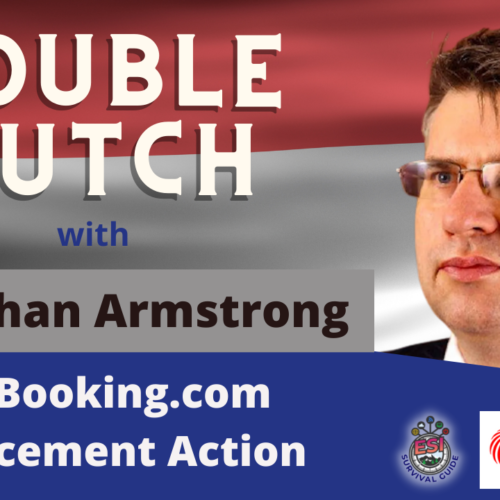 Double Dutch with Jonathan Armstrong of Cordery UK – Part 2: The Booking.com Enforcement Action